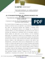 Convocatoria Coloquio 2015-1