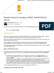Detailed Tutorial for Building ASP