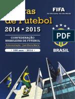 Regras Futebol 14-15 Cbf