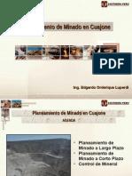 Planeamiento de Minado en Cuajone