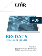 Big Data y Periodismo de Datos