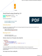 Send Email Using Gmail by C# - CodeProject