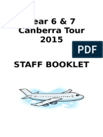 canberra staff booklet 2015