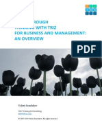 Triz for Business and Management