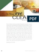 Clean You Eye