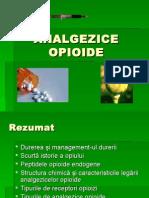 Durere 4 Analgezice Opioide