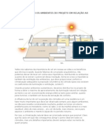 Como Distribuir Os Ambientes Do Projeto Em Relação Ao Norte e Ao Sol