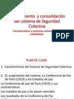 1. Surgimiento y Consolidación de La Seguridad Colectiva (1920 -1924)