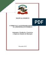 o Tribunal e as Entidades Municipais Da Administracao Indireta Dez 2012 1