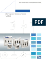 Material WEG Fsw Interruptor Seccionador Fusible 50038547 Catalogo Espanol