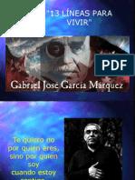 13 Fraces de Gabriel Garcia
