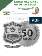 INFLUENCIA DEL NITRÓGENO EN EL CULTIVO DE MAÍZ VARIEDAD MARGINAL T-28