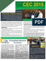 Boletín Informativo #02 Sept/Oct 2015