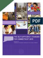 CT Self Sufficiency Standard 2015