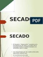 Secado.operaciones unitarias