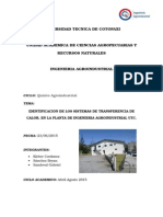 Informe de La Planta Agroindustrial