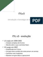 ITIL v3 - Introdução e Estratégia de Serviços