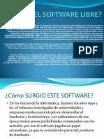 Qué Es El Software Libre
