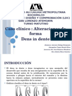 Caso Clínico Dens in Dente