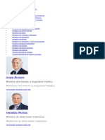 Ministros Javier 2015