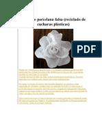 Rosas de Porcelana Falsa