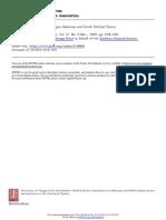 After Virtue, Autonomy Jurgen Habermas and Greek Political Theory
