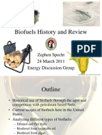 A Biofuels History and Review