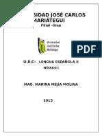 MÓDULO DE LENGUA ESPAÑOLA II.doc