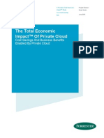 445772_Forrester TEI - The Total Economic Impact of Private Cloud