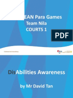 APG Team Nila Courts 1 Disability Awareness