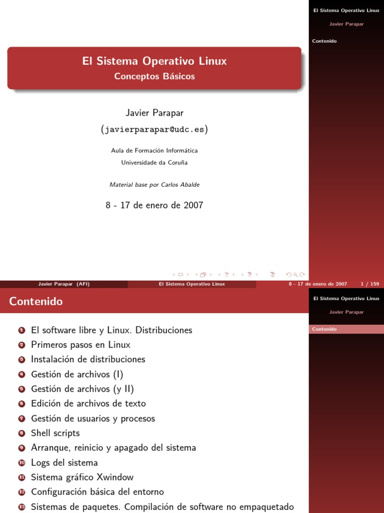 Linux Enero 2007