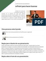 Técnicas de PowerPoint Para Hacer Buenas Presentaciones _ EHow en Español