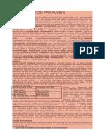 Acute Flaccid Paralysis ( Afp )