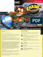 Crash Nitro Kart - Manual - NG