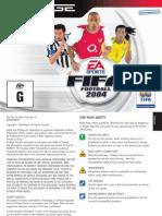 Fifa 2004 - Manual - Ng
