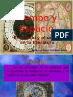 Tiempo y espacio en la literatura