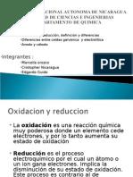 Oxidacion y Reduccion