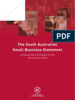 The South Australian Small Business Statement