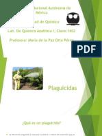 Plaguicidas y su relación con la química analítica