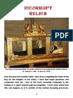 Incorrupt Relics