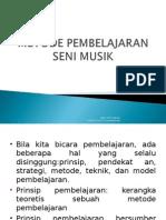 Metode Pembelajaran Seni Musik - Ciptobh