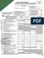 1999 Form 990-PF JonBenet Ramsey Foundation