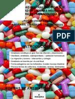 Drogas Para Amebiasis, Giardiasis, Tricomoniasis