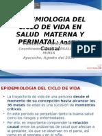 002 Epidemiologia Ciclo Vida Causalidad Salud Materna Perinatal