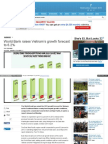 World Bank Raises Vietnam's Growth Forecast to 6.2 %