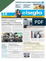 Edicion Impresa El Siglo 28-10-2015