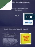 Legislacion MSDS