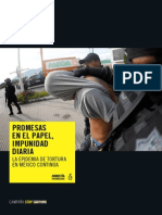 informe amnistía internacional tortura