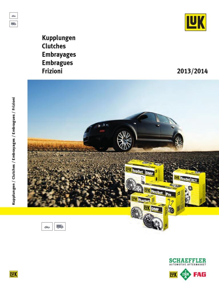 Catalogo Embragues Luk 2013 2014