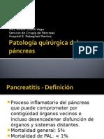 Patología Quirúrgica Del Páncreas